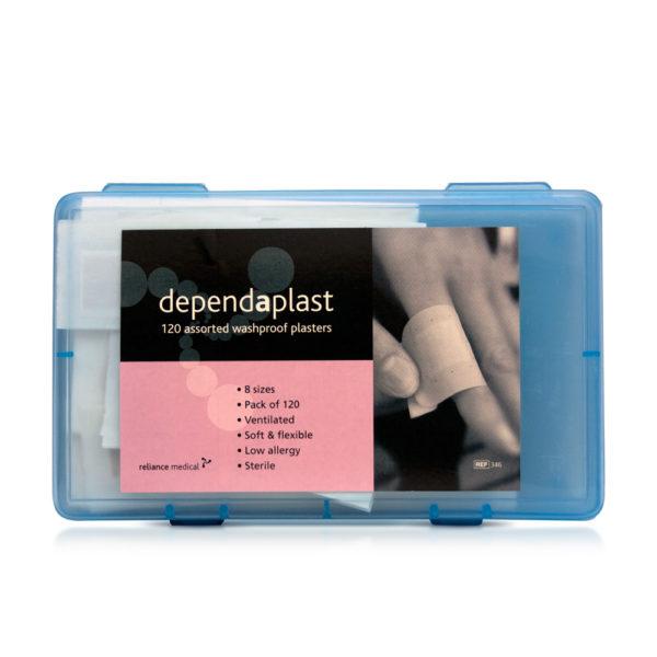Premium Washproof Assorted Plasters (Box of 120) 3