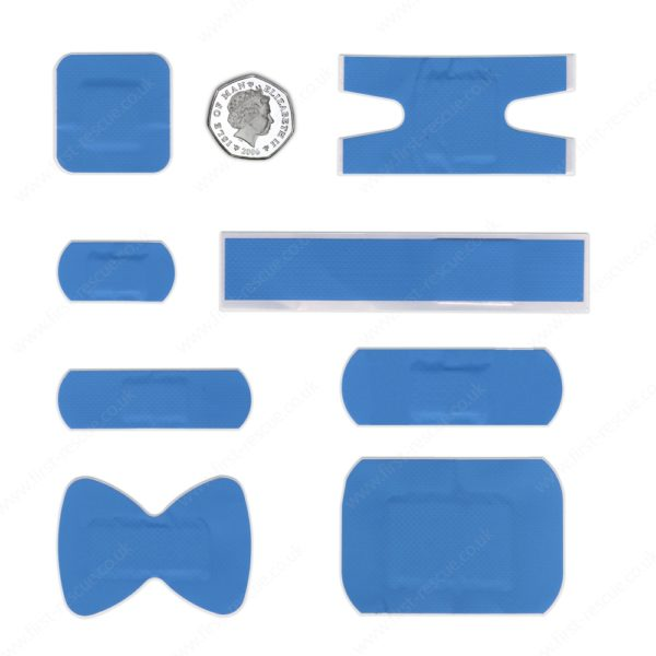 Premium Blue Assorted Catering Plasters (Box of 120) 4