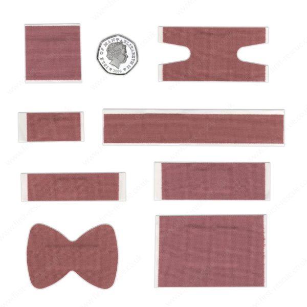 Premium Fabric Assorted Plasters (Box of 120) 3