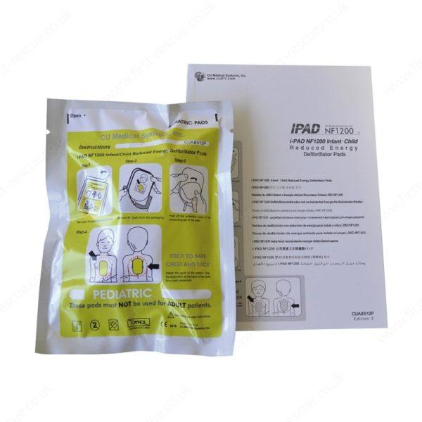 iPad Saver NF1200 Paediatric Electrodes Pads