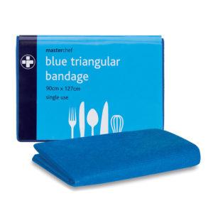 Blue Triangular Bandage (Pack of 10) 2