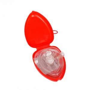 Re-usable CPR Pocket Mask (Supplied In Hard Case)