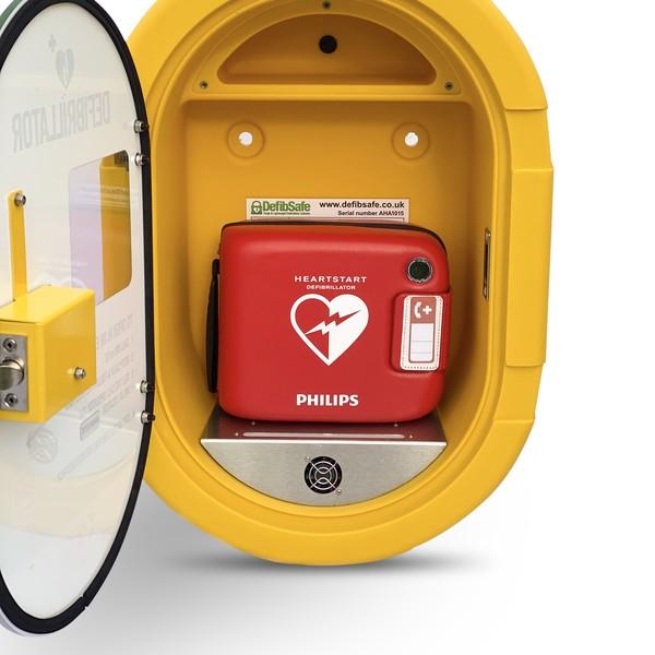 Defibsafe 2 Secure Outdoor AED Cabinet no lock 3