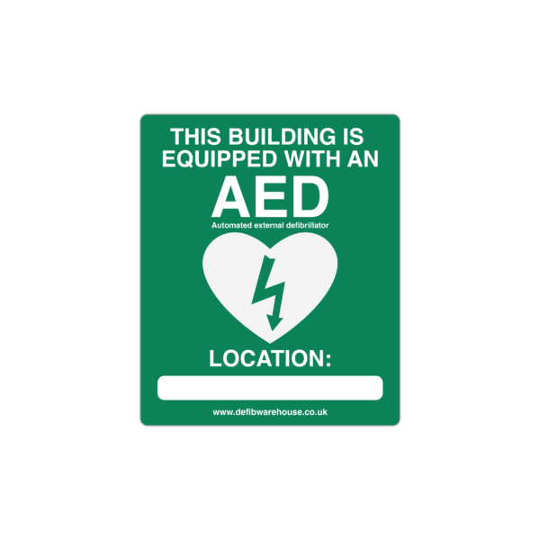 FREE Downloadable AED Location Wall Sign