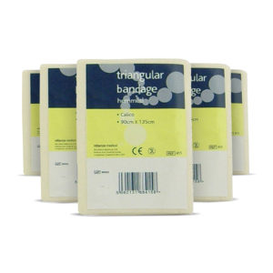 Calico Triangular Bandage NS (Pack of 10) 3