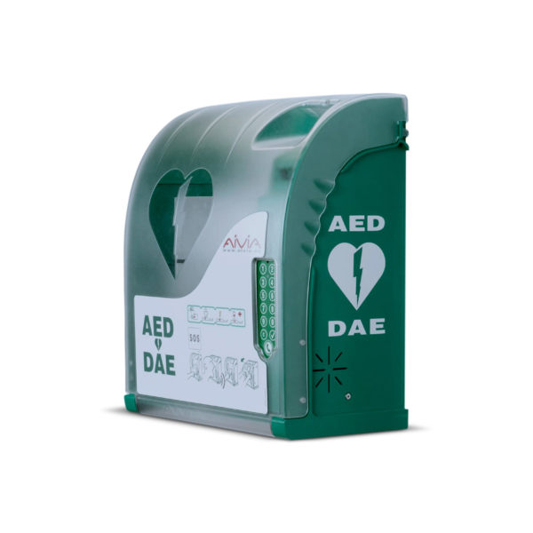 AIVIA 210 Outdoor AED Cabinet With Lock 1
