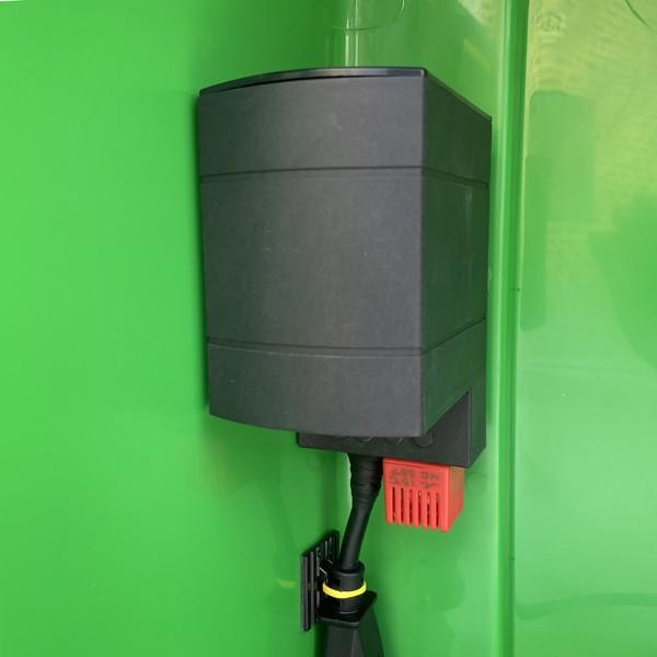defibstore 4000 polycarbonate outdoor aed cabinet green