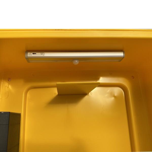 DefibStore 4000 Secure Outdoor AED Cabinet