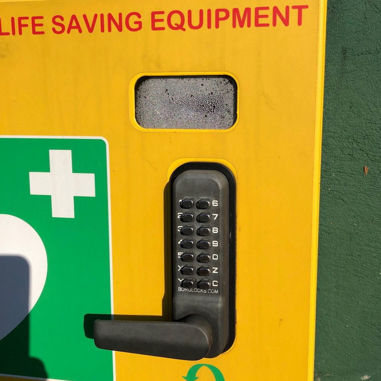 Check your defib cabinet! 4