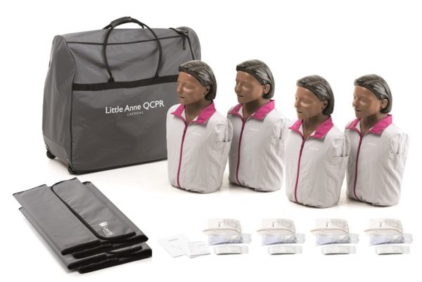 Laerdal Little Anne QCPR 4 Pack (Dark Skin)
