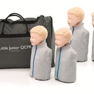 Laerdal little Junior Manikin 4 pack QCPR