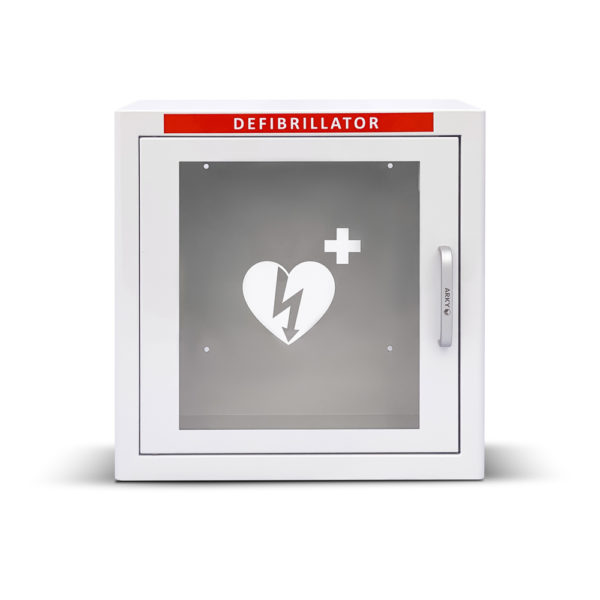 Arky White Indoor Defibrillator AED Cabinet With Alarm 60112