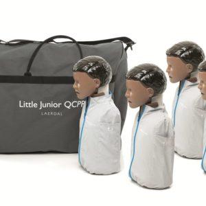 Laerdal little Junior Manikin dark skin 4 pack QCPR