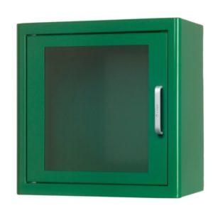 Arky Green Indoor Defibrillator AED Cabinet With Alarm 60122
