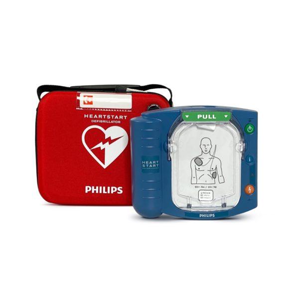 Philips HeartStart HS1 Defibrillator with Slim Carry Case