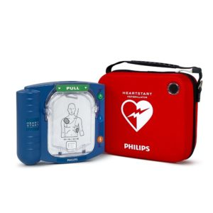 Philips HeartStart HS1 Defibrillator with Standard Carry Case