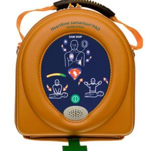 HeartSine 500P Defibrillator with CPR Advisor 1