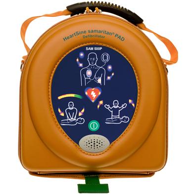 HeartSine 500P Defibrillator with CPR Advisor 2