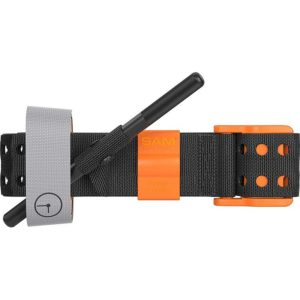 The SAM XT Extremity Tourniquet features an innovative auto-lock technology which addresses the main cause of failed tourniquet application, slack. The TRUFORCE buckle technology auto-locks to exclude nearly all tourniquet slack by intergrating innovative baseline force control, activating the locking prongs.
