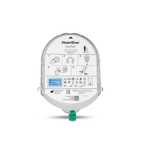 HeartSine PAD-Pak™ combined battery & electrodes 2