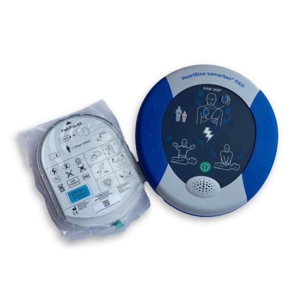 HeartSine Samaritan PAD 360P Fully-Automatic Defibrillator 2