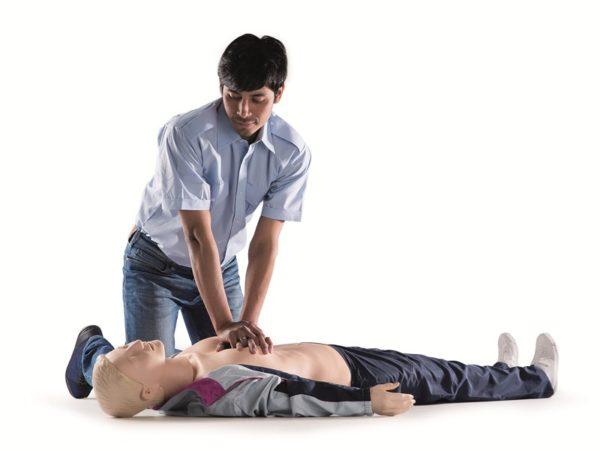 Laerdal Resusci Anne First Aid Full Body Manikin with Trolley Bag 170-01250