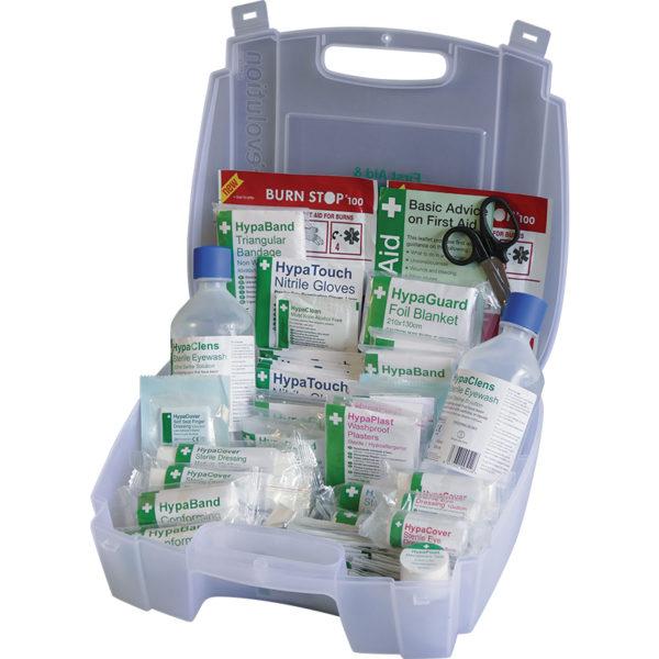 Evolution British Standard Compliant First Aid & Eyewash Kit, Small 2