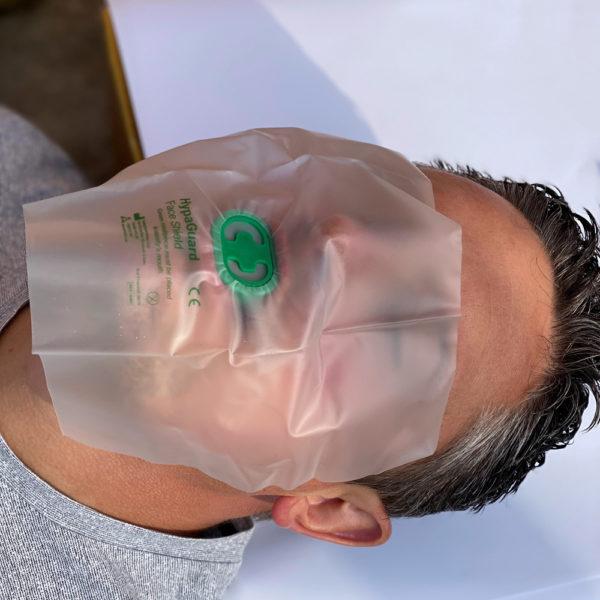 HypaGuard Resuscitation CPR Face Shield 3