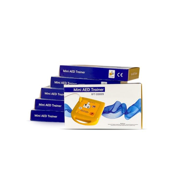 Mini AED Trainer XFT-D0009 pack of 6 3