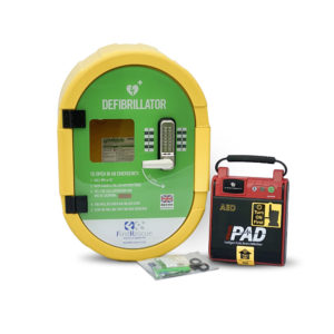 I-PAD SAVER NF1201 Fully-Automatic Defibrillator Outdoor Package
