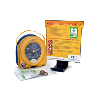 HeartSine Samaritan PAD 360P Fully-Auto AED & Wall Hanger Package