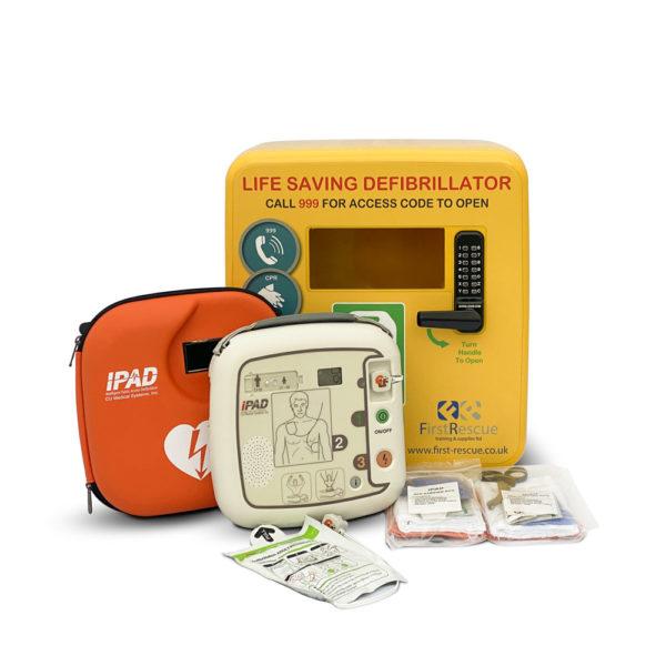 iPAD SP1 Fully-Automatic Defibrillator & Defibstore 4000 Package Deal
