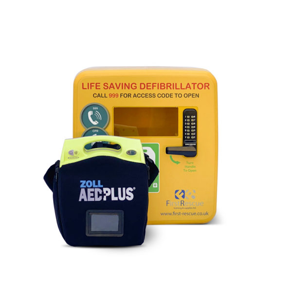 ZOLL AED Plus Fully-Auto & Defibstore 4000 AED Package Deal 3