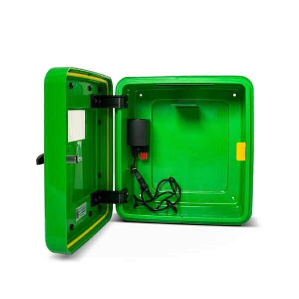 DefibStore 4000 Outdoor Defibrillator Cabinet (Non-Locking) Green 4