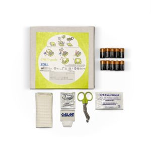 ZOLL AED Plus CPR-D Pads and Battery Bundle