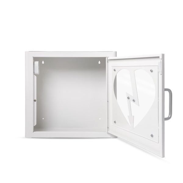 AED Protect Indoor White Cabinet with Alarm 8